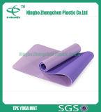 Stuoia impermeabile all'ingrosso di yoga del TPE di colore completo di esercitazione