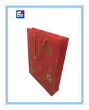 Saco de papel do presente da alta qualidade para o empacotamento da jóia