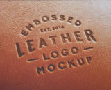 Motif en dentelle cuir en relief pour les livres de menu Emballage (Y12)