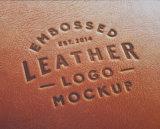 메뉴 책 표지 상자 포장을%s 최고 판매 이쑤시게 패턴 부조세공한 가죽 (Y12)