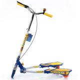 子供2の足のスクーターまたは子供の二重ペダルのフィートのスクーター