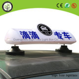 LED-Taxi-Fahrerhaus-Dach-bekanntmachender heller Spitzenkasten