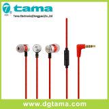 hoofdtelefoon van Earbuds van de Hoofdtelefoon van de Oortelefoon van het in-oor van 3.5mm de Stereo met Mic Telefoon