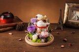 Fiore conservato in vetro per il regalo di compleanno
