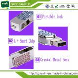 Модный выдвиженческий привод вспышки USB цветка ювелирных изделий