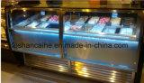 Showcase de Gelato da venda de Áustria/congelador quentes gelado