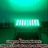 36X10W wasserdichten Outdoor-Licht-Wand-Unterlegscheibe LED City Color