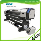 Wer 8feet Small Vinyl Sticker Printer Machine Car Wrap com 1440dpi