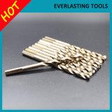 """Les morceaux de foret des morceaux de foret de torsion HSS Co ont placé 10PCS 1/4 """" 6.35mm"""
