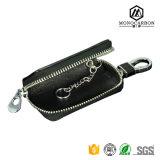 贅沢なニースデザインPromotiionの卸売のための実質カーボンファイバーの金属のキー車のキー袋のホールダー