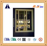 Perfil de encargo de desplazamiento del PVC de la serie del estilo 88 europeos de la estructura de la Multi-Cavidad para la ventana de desplazamiento y la cubierta de la puerta