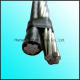0.6/1kv de Naakte Leider XLPE van de Legering van het aluminium/pvc Geïsoleerde Kabel ABC