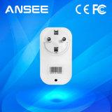 Inteligente estándar de la UE Enchufe de corriente inalámbrica para Smart Home System