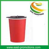 Tasse à double paroi commode de boissons du café 300mltravel avec le couvercle rotatoire
