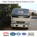 6cbm Dongfeng 훅 팔 드는 유로 4 쓰레기 콘테이너 유조 트럭