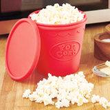 Benna pieghevole del popcorn del silicone di categoria alimentare del popcorn della cucina di prezzi all'ingrosso DIY