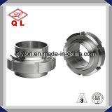 304 ou acier inoxydable 316L sanitaire ajustant l'union DIN 11851