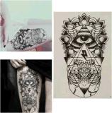 Autoadesivo provvisorio impermeabile del tatuaggio del totem del corpo del braccio del piedino del reticolo di occhio