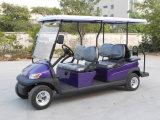 6 Auto van het Sightseeing van de Chassis van het Aluminium van de zetel de Elektrische