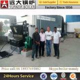 Il nuovo stato e gli assistenti tecnici disponibili servire a macchinario il servizio After-Sales d'oltremare hanno fornito la caldaia a vapore infornata carbone 4-10ton