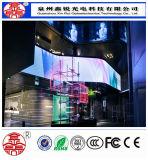 Tela de indicador de alumínio de fundição do diodo emissor de luz da alta resolução P4 para anunciar