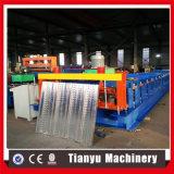 Rodillo del panel de la cubierta de suelo de acero de Gavanized que forma la línea de la máquina