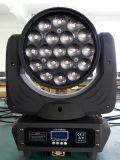 Éclairage d'oeil de bourdon de l'étape RGBW 19PCS