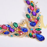 方法白鳥の多彩な水晶ネックレスのイヤリング2 PCSの一定の宝石類