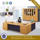Стол офиса конструкции Европ офисной мебели меламина Lecong (HX-GD088)