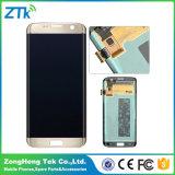 Агрегат экрана LCD на испытание 1 LCD края галактики S7 Samsung 1 перед грузить