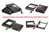 完全なHD 1080P車のカメラDVRのビデオレコーダーH 264の8CHリアルタイム