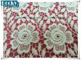 Nuevo cordón de la tela de algodón del cordón del bordado de la manera 2017