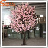 Vente 2016 chaude 10 pieds de cerise d'arbre artificiel de fleur pour la décoration de mariage