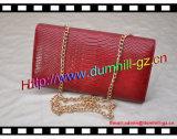 Бумажник женщин крокодила Китая изготовлений сумки цепной