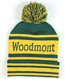 ばねの方法フットボールのファンのアクリルの帽子