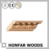 天井のアクセサリの木製の王冠の鋳造物は形成を切り分けた