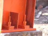 小屋のための優雅な塗られた鉄骨構造の工場