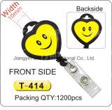 Carretel lateral dobro T-413/T-414/T-415/T-416/T-417/T-418/T-419/T-420 do emblema do sorriso