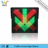 indicatore luminoso del segnale stradale della stazione LED del tributo di traffico a singhiozzo di 600mm