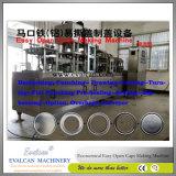 Folha de alumínio aberta de segurança Descascar as tampas que fazem a máquina