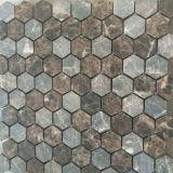 Heet verkoop Hexagon Marmeren Tegel van de Vloer van het Mozaïek van de Steen van de Tegel