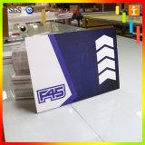 le signe coloré blanc de 6mm annonçant le PVC de plastique de Module émulsionnent librement panneau