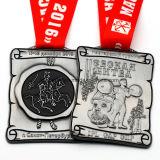 カスタマイズされたリボンが付いている最も新しい習慣3Dの金属メダル