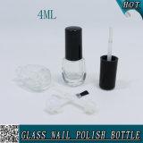 Bouteille en verre faite sur commande vide claire 4ml de vernis à ongles de gel