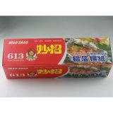 Papel de aluminio de la categoría alimenticia para el uso de la cocina