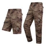 Militärischer taktischer Tarnung-Sommer-Quick-Dry justierbare kurze Hose