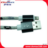 Cabo de 2017 dados cobrando do cabo do USB do iPhone popular novo