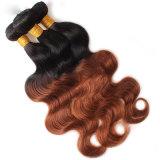 Cabelo humano não processado natural da onda brasileira barata do corpo do cabelo do Virgin