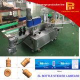 자동적인 선형 자동 접착 종이 또는 스티커 레테르를 붙이는 기계