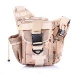 Saco impermeável tático militar elegante da cintura do ombro